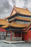 Fototapeta azja - azjatycki - Starożytna Budowla