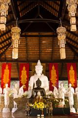 Buddha statue in Wat Phalad,Chiang Thailand