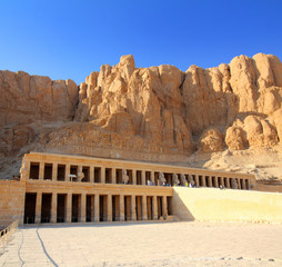 temple of Hatshepsut in Luxor Egypt