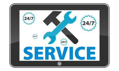 tablet pc service.