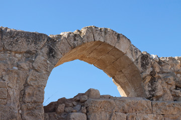 Arch in Crusader Church, Bet Guvrin