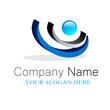 Company logo design 3D