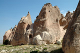 Cave Dwellings in Goreme, Cappadocia, Turkey poster