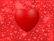 Love background with lot of hearts