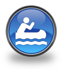 Canoe Glossy Button