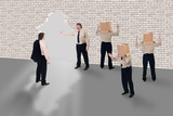 Business coaching - business school concept