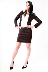 Business Woman whit black dress