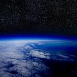 Fototapete Raum - Planentarium - Nacht