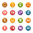 Colored Dots - Media Icons
