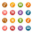 Colored Dots -  - Real estate icons