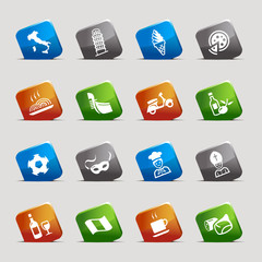Cut Squares - Italian Icons