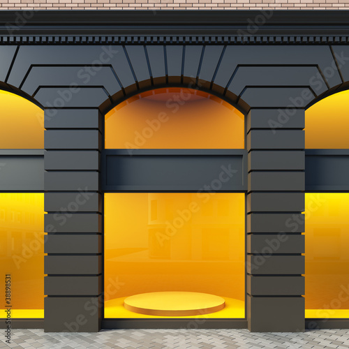 Showcase in classical style. - 38898531