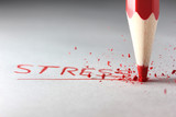 Fototapeta stres - stresującą - Znak / Symbol