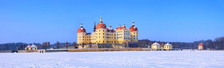 Moritzburg im Winter - Moritzburg Castle in winter 02