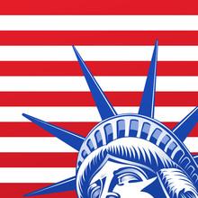 Twarz Liberty Statue