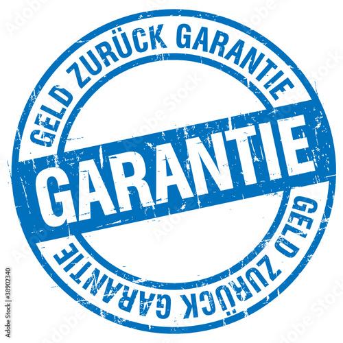 Stempel - Geld Zurück Garantie (II)