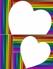 San Valentino - cuore e colori