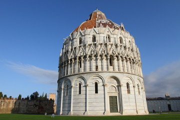 Baptistery of the Cathedral of Pisa, Italy