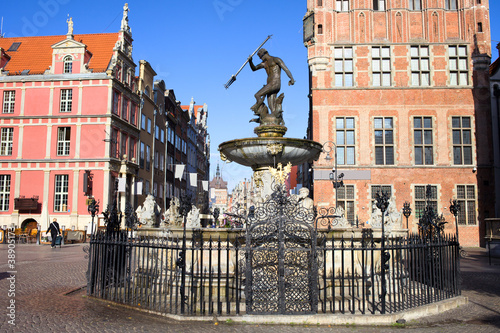 Gdansk Old City in Poland - 38905173
