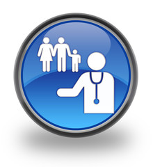 Family Practice Glossy Button