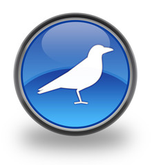 Bird sign button