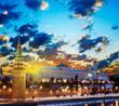 Fototapeta Moskwa - Kreml - Przystań