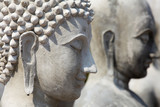 Incomplete buddha statue, Shallow DOF poster