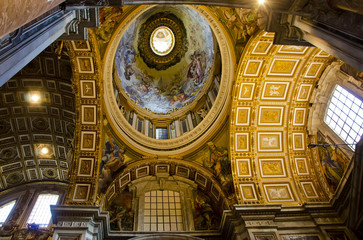 St. Peters cathedral in Vatican