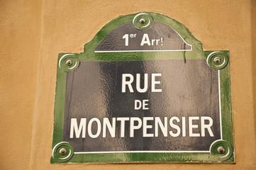 rue Montpensier à Paris 1er