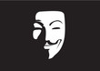 Guy Fawkes with Shadow