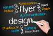 Flyer und Design - Business Concept
