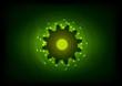 green cogwheel