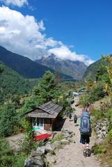 Trekking in Himalayas, Nepal