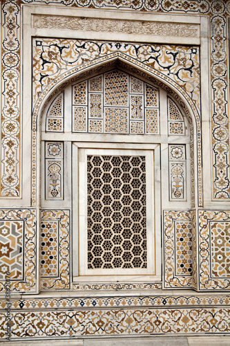 Okno w Indiach