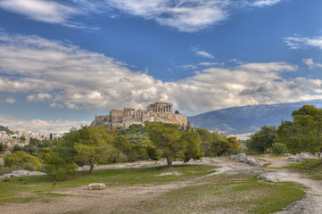 acropolis and parthenon ,Athens,Greece