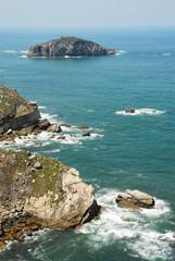 Cantabrian Coast, Asturias in Spain