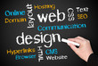 web design - business concept