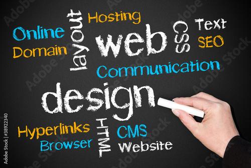 web design - business concept