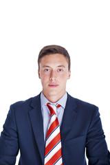 Portrait of a calm confident businessman
