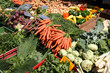 Vegetable market in Mainz, Germany