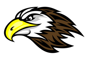 Cartoon falcon