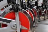 Fototapety fitness cycle wheel