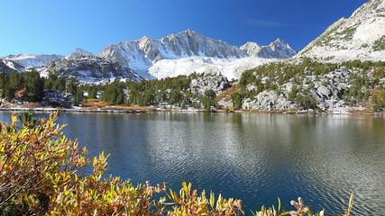 Beautiful Mountain Alpine Lake