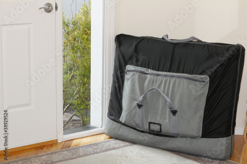 Massage Table in a Carrying Case