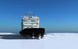 Leinwanddruck Bild - Icebreaker