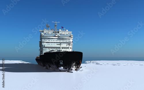 Leinwanddruck Bild Icebreaker