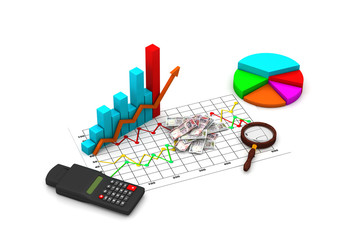 Financial graph analyzing