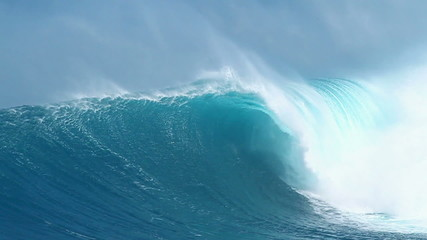 Blue Ocean Wave, HD Video