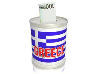 Sparbüchse Griechenland