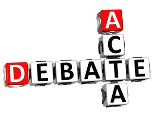 3D Debate Acta Crossword
